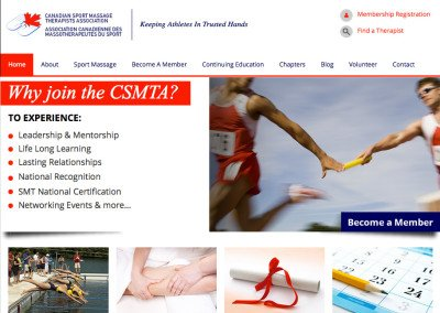Canadian Sports Massage Therapist Association – www.csmta.ca