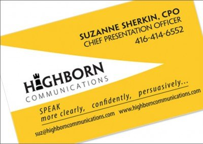 Highborn Communications Inc.
