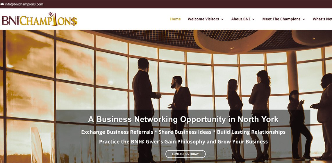 BNI Champions North York Business Networking Group