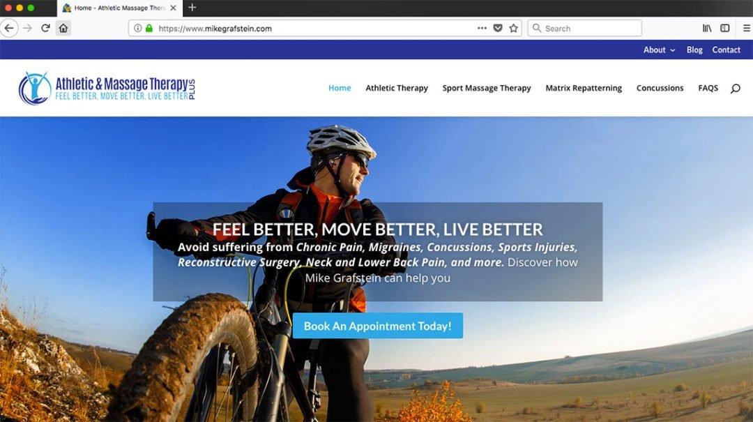 Mobile Responsive Website – WordPress Divi Theme – Mike Grafstein