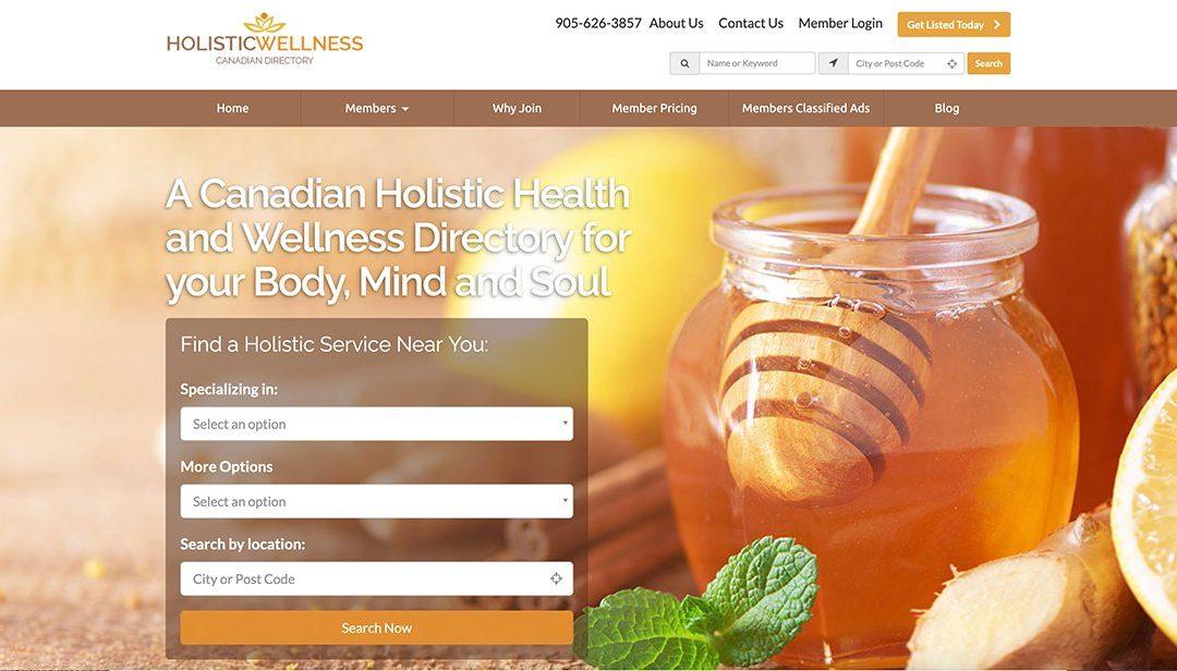 Holistic Wellness Canada Directory